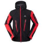 Оригинал Мужская одежда На открытом воздухе Softshell Hiking Кемпинг Warm Jacket