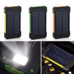 Оригинал LED Двойные порты USB Солнечная Панельный блок питания Чехол Зарядное устройство DIY Наборы Коробка для Samsung S8 Xiaomi