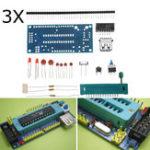 Оригинал 3Pcs DIY Минимальная системная плата ATMEGA8 ATmega48 Минимальная системная плата ATMEGA88 AVR Набор