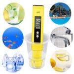 Оригинал Automatic Protable LCD Цифровой измеритель PH Ручка калибровки точности воды тестера Аквариум Бассейн