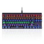 Оригинал Motospeed K83 87 Key Bluetooth 3.0 Проводной коммутатор Outemu Механический Gaming Клавиатура