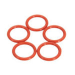 Оригинал 5PCS 12 мм Уплотнение резиновой прокладки O Кольцо уплотнения Резина DIY Стирлинг Двигатель Запасная часть