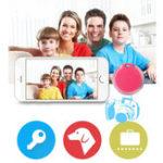 Оригинал Pet Анти Lost Tracker Smart Finder Автопортрет Bluetooth 4,0 Мини-сигнализатор для домашних животных GPS Locator