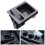 Оригинал Углеродный центр для хранения поддонов Монета Коробка для BMW E46 325 3 Серия 51168217957