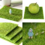 Оригинал Искусственный Faux Сад Turf Grass Lawn Moss Миниатюрный дизайн экологического декора