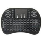 Оригинал I8 Три цвета с подсветкой Испанская версия 2.4G Wireless Mini Клавиатура Touchpad Airmouse