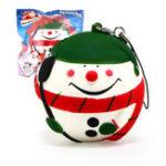 Оригинал Squishy Fun Squishy Snowman Christmas Santa Claus 7cm Медленный рост с подарком коллекции упаковки