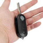 Оригинал 3 Кнопки Черный Дистанционный Ключ Чехол Fob Blank Flip Blade для Citroen Relay Jumper