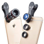 Оригинал Apexel APL-JS10XDG3 Универсальный 10X телеобъектив Zoom Fisheye Широкоугольный макрос Объектив для мобильного телефона