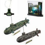 Оригинал Scuba Seawolf Nuclear Submarine Дистанционное Управление Игрушка 6-канальный 35 см RC Дайвинг