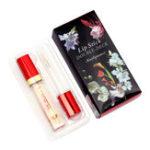 Оригинал KAILIJUMEI Jelly Gold Foil Lip Gloss Цветовое изменение цвета Палка Увлажняющий блеск для губ Lipstic 6ml