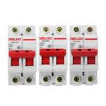 Оригинал DZ47S-2P / c AC 400V 10/20 / 32A 2P Пластиковый воздушный выключатель Миниатюрный автоматический выключатель