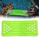 Оригинал ПВХнадувнойпивнойпонгстол22 Кубок Отверстия Вода плавающая для Бассейн Party Drinking Game