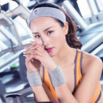 Оригинал Women Sports Cotton Sweat Headband Outdoor Fitness Running Hairband