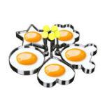 Оригинал КухняизнержавеющейсталиCuteShaped Fried яйца Пресс-форма для блинчиков