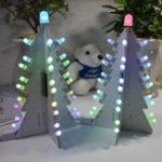 Оригинал Geekcreit® DIY Управление освещением Полный цвет LED Большая башня из новогодней елки Набор