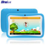 Оригинал BinaiA9QuadCore512MRAM 8G ROM Android5.1 7 дюймов Kids таблетка Blue