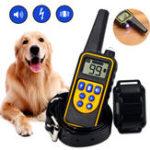 Оригинал LCD Собака Воротник для обучения домашних животных 1-99 Уровень Дистанционное Управление Звуковой сигнал вибрации удара US Правила