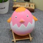 Оригинал PU Медленная прическа Вкус Игрушка Squishy Imitation Cute Hen Random Color