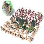Оригинал 105pcs / Set Средневековые рыцари Воины Модель Игрушечные солдаты Рисунок Модели Kid Gift
