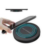 Оригинал Qi Беспроводная быстрая зарядка 9V для настольного зарядного устройства для Smsung S8 iPhone 8 X Plus