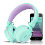 Оригинал I35 Складная шумоподавление Проводная гарнитура для наушников-уха с микрофоном для Samsung S8 iPhone Xiaomi