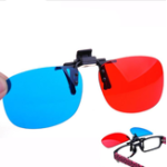 Оригинал Синий и красный 3D Очки для домашнего кинотеатра Кинотеатр Game LED Проектор Легко для стеклянных людей