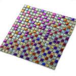 Оригинал 11 шт. Красочные стеклянные мозаичные плитки для гостиной Ванная комната Паб