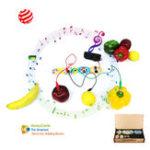 Оригинал HoneyComb DIY Программируемый цифровой электронный Набор Блок музыки Play Touch Sound Speaker для детей