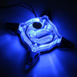 Оригинал Bykski Jet Тип CPU Waterblock LED Акриловый водяной блок для Intel