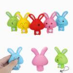 Оригинал Squishy Кролик Кролик 8см Soft Медленный Восходящий Телефон Сумка Ремень Декор Коллекция Подарочная Игрушка