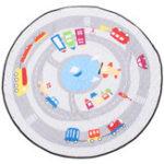 "Оригинал 55 "" Soft Cotton Round Baby Kids Game Спортзал Play Crawling Blanket Toys Storage Сумка"