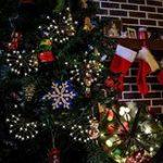 Оригинал 2M 100LEDs Теплый белый фейерверк Fairy String Light для рождественской патио Party EU US Plug