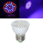 Оригинал Full Spectrum E27 3W 60 LED Grow Light 41 Red 19 Blue для Растение Hydroponics AC220V