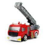 Оригинал CokeCanShenqiwei80271:58Воздушная лестница Fire-Truck RC Авто Mini 4 Channel