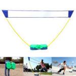 Original 3в1Наоткрытомвоздухе Спорт Бадминтон Теннис Волейбол Net Портативный стенд Battledore Set