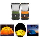 Оригинал Портативный 9W 1000Lm LED Кемпинг Light Lantern Батарея Powered На открытом воздухе Hiking Emergency Лампа