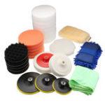 Оригинал 29Pcs Sponge Buffing Polishing Pad Buffer Набор Для электрических автополимеров