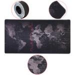 Оригинал 800x400x4mm Большой бесконтактный портативный компьютер Клавиатура Карта мира Мышь Коврик для рабочего стола