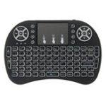 Оригинал I8 Три цвета с подсветкой Арабская версия 2.4G Wireless Mini Клавиатура Touchpad Air Мышь