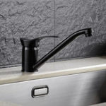 Original KCASA Медь Фильтр с водяным фильтром Поворотный смеситель для раковины Torneira Смеситель для стиральной машины Matte Black Kitchen Горячий и холодный кр