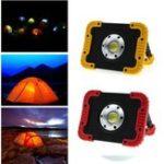 Оригинал 10W Портативный USB аккумуляторная LED COB Кемпинг Свет На открытом воздухе Свет наводнения для походов Рыбалка