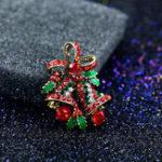 Оригинал Мода 2017 Рождественские подарки Броши Rhinestone Brooch