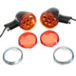 Original Задние LED Поворотные сигнальные огни Черный для Harley Sportster XL883 XL1200
