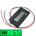 Оригинал 3Pcs 12V / 24V / 36V / 48V 8-70V LCD Acid Lead Lithium Батарея Индикатор емкости Цифровой вольтметр