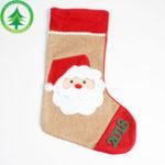 Оригинал Рождественские ручные носки Creative Hand Сумка Christmas Handicraft Colorful