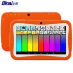 Оригинал BinaiA9QuadCore512MRAM 8G ROM Android 5,1 7 дюймов Kids таблетка Orange