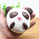 Оригинал Cute Jumbo Panda Bread Телефонный ремешок Soft Panda Squishy Head Charms Сотовый телефон Key Сумка Ремни Кулон