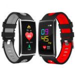 Оригинал ЦветнойэкранВодонепроницаемыКровяноедавлениеСердце Оценка Монитор Отслежыватель Smart Wristband для IOS Android