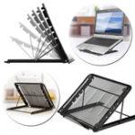 Оригинал Регулируемый складной настольный держатель для рассеивания тепла Настольная подставка для ноутбука Macbook Tablet